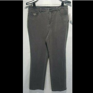NEW Quacker Factory DreamJeannes Jeans 12 Short